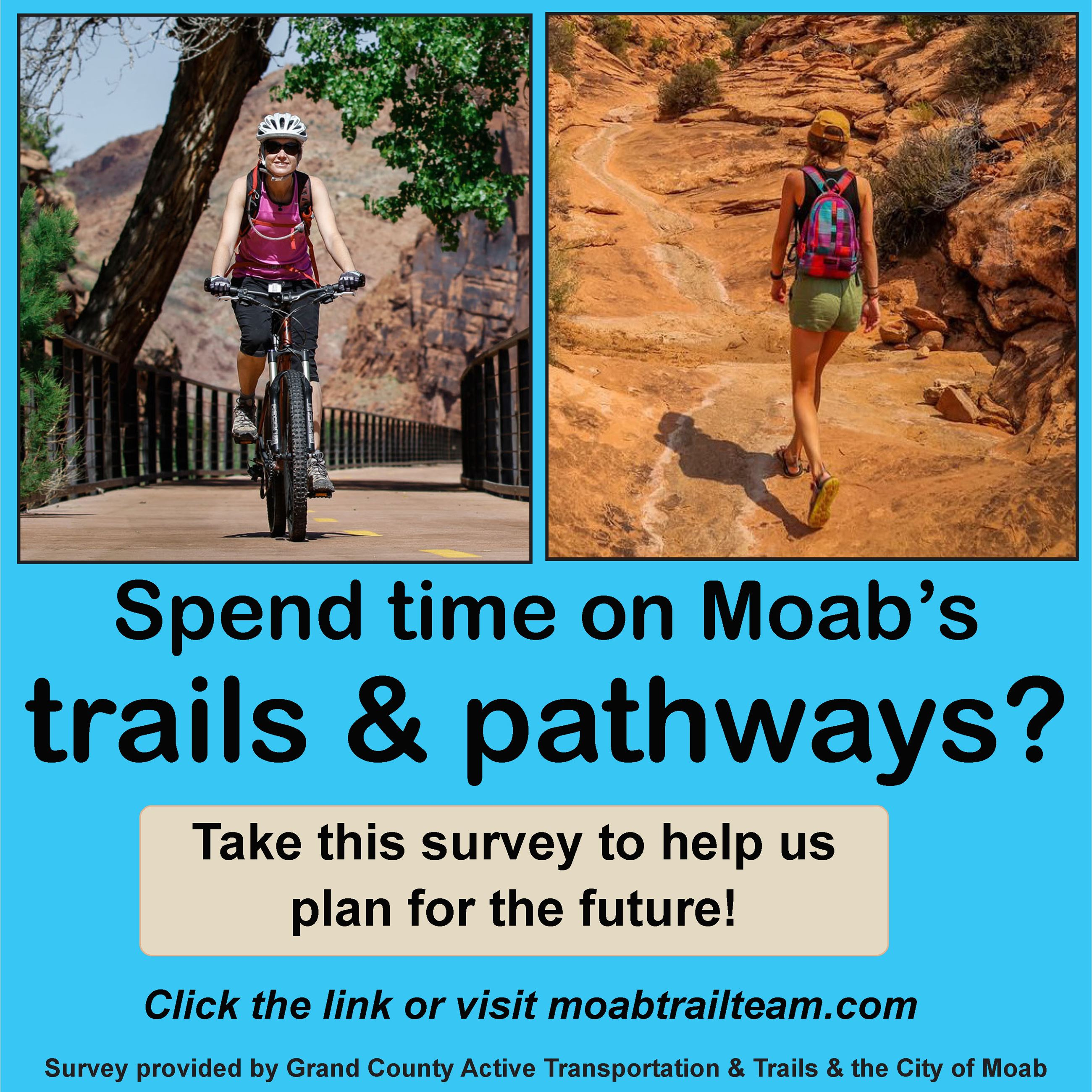 Trail Mix Survey Flier
